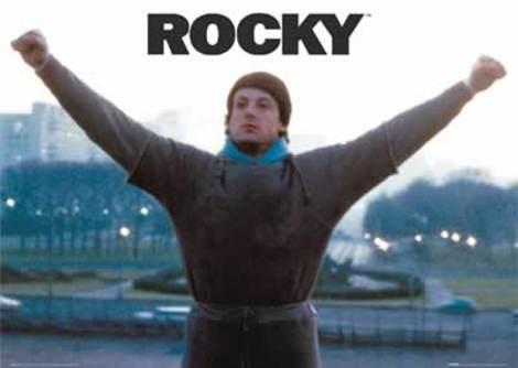 ロッキーのパワーポーズ