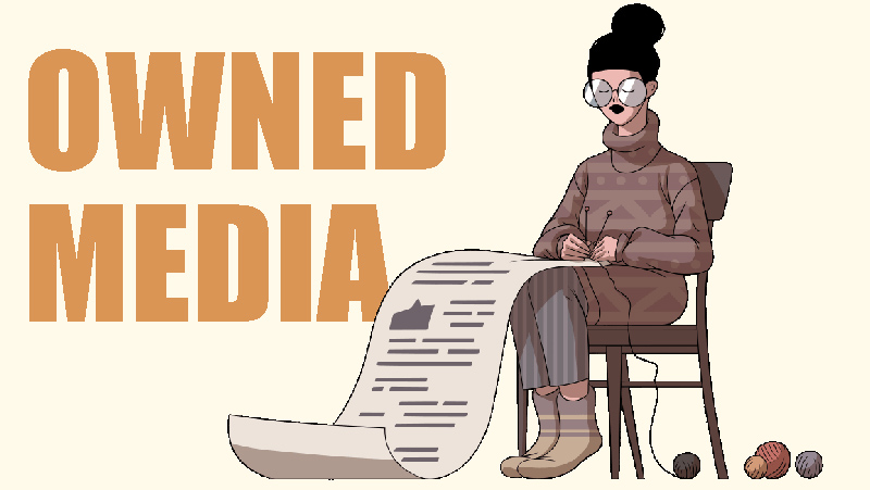 オウンドメディア